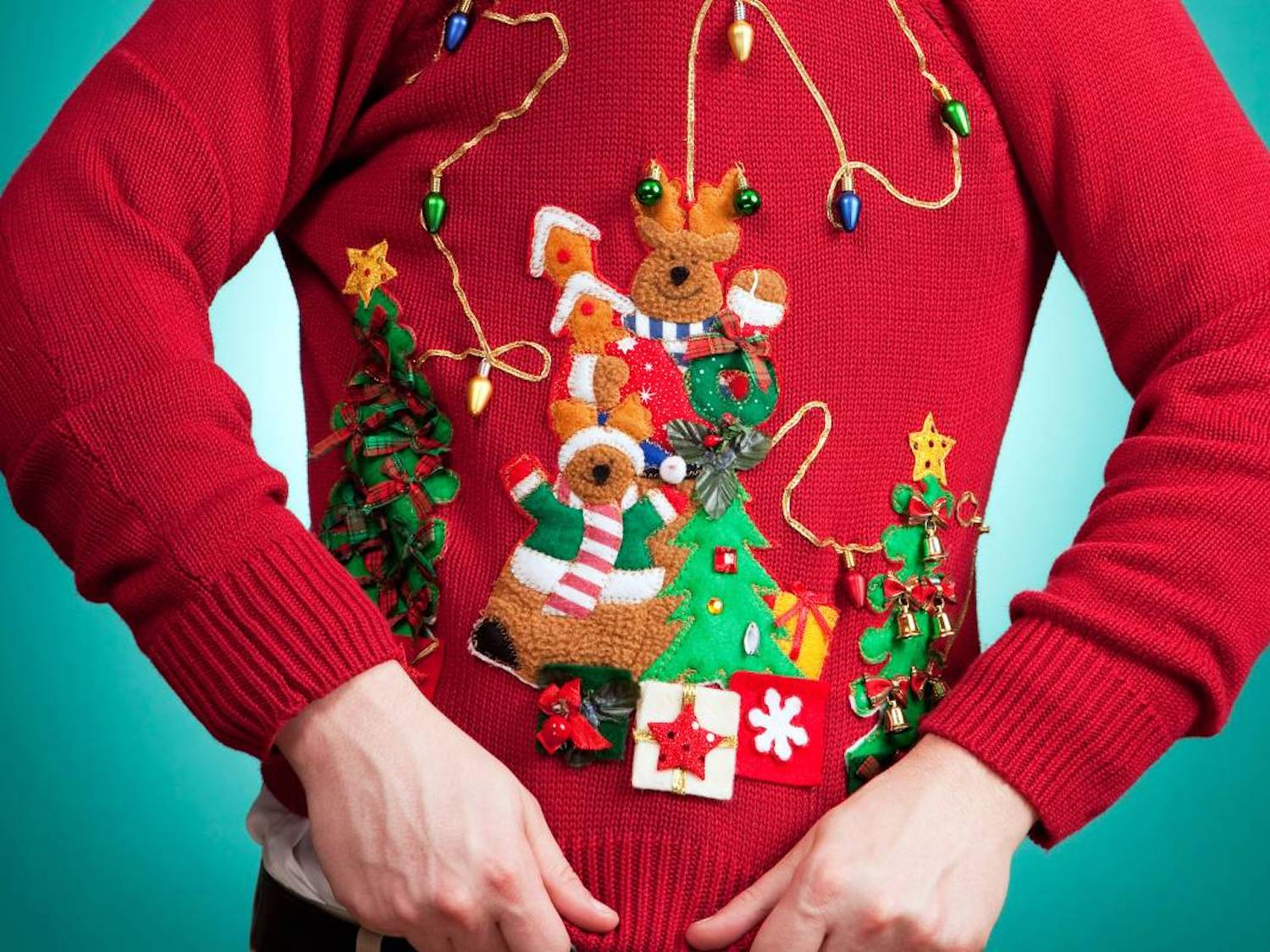 Oh So Ugly Holiday Sweater Party & Open House
